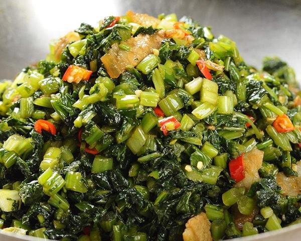 干锅婆婆菜