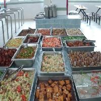 宁波工厂食堂承包手把手带你丝瓜肉片汤